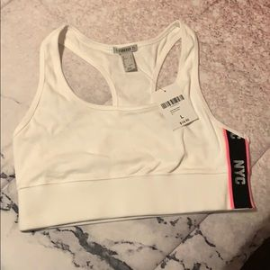 NWT Forever 21 Low Impact - NYC Graphic Sports Bra